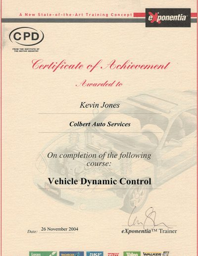 KJ dynamic control